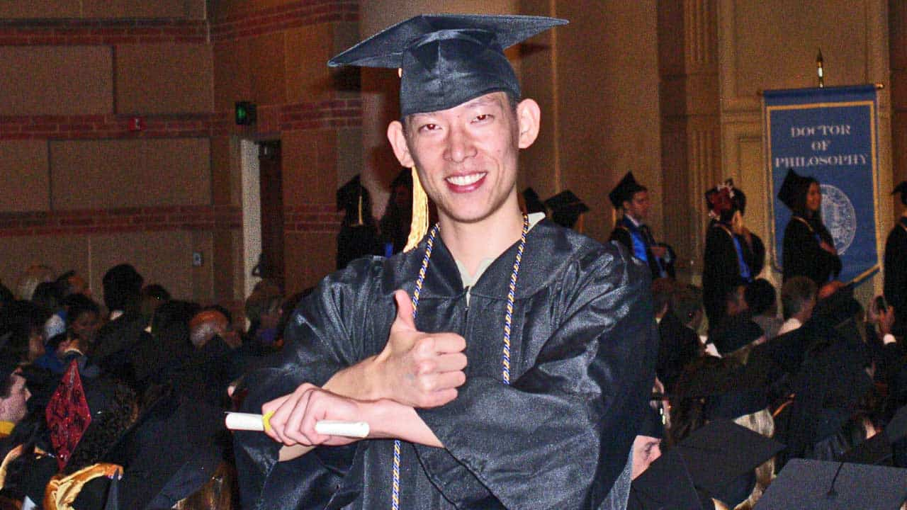 Ronald Pan has a vision that he will graduat debt free without the burden of student loans